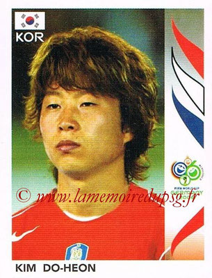2006 - Panini FIFA World Cup Germany Stickers - N° 501 - Kim DO-HEON (Corée du Sud)