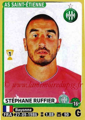 2015-16 - Panini Ligue 1 Stickers - N° 411 - Stéphane RUFFIER (AS Saint-Etienne)