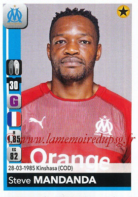 2018-19 - Panini Ligue 1 Stickers - N° 202 - Steve MANDANDA (Marseille)
