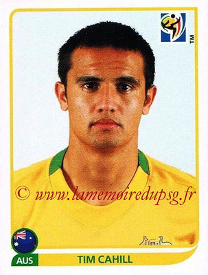 2010 - Panini FIFA World Cup South Africa Stickers - N° 290 - Tim CAHILL (Australie)
