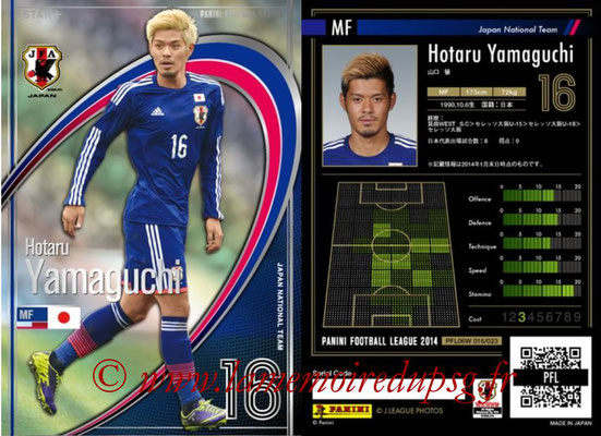 Panini Football League 2014 - PFL06W - N° 016 - Hotaru YAMAGUCHI (Japon) (Star +)