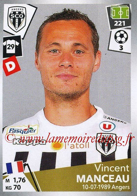 2017-18 - Panini Ligue 1 Stickers - N° 030 - Vincent MANCEAU (Angers)