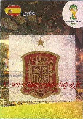 2014 - Panini FIFA World Cup Brazil Adrenalyn XL - N° 142 - Logo Espagne