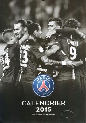 Calendrier PSG 2015