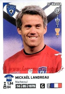 N° M05 - Mickaël LANDREAU (2006-09, PSG > Jan 2013, Bastia)