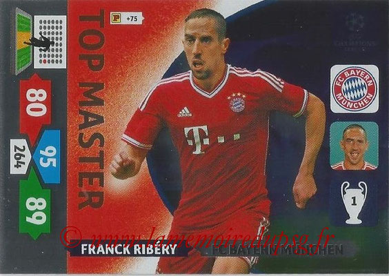 2013-14 - Adrenalyn XL champions League N° 355 - Franck RIBERY (FC Bayern Munich) (Top Master)