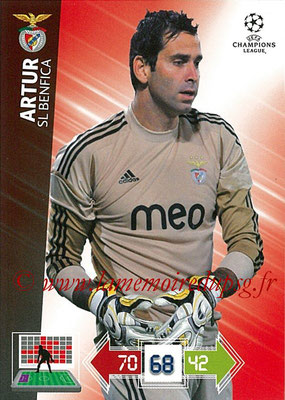 2012-13 - Adrenalyn XL champions League N° 058 - ARTUR (SL Benfica)