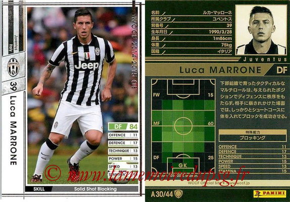 2013-14 - WCCF - N° A30 - Luca MARRONE (Juventus FC)