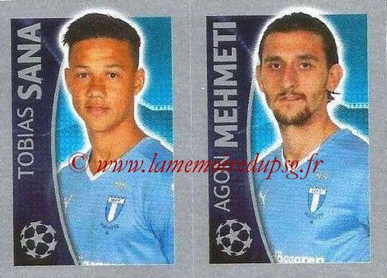 2015-16 - Topps UEFA Champions League Stickers - N° 076 - Tobias SANA + Agon MEHMETI (Malmö FF)