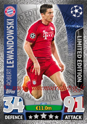 2015-16 - Topps UEFA Champions League Match Attax - N° LE7 - Robert LEWANDOWSKI (FC Bayern Munich) (Limited Edition Silver)