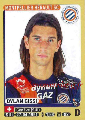 2015-16 - Panini Ligue 1 Stickers - N° 272 - Dylan GISSI (Montpellier Hérault SC)