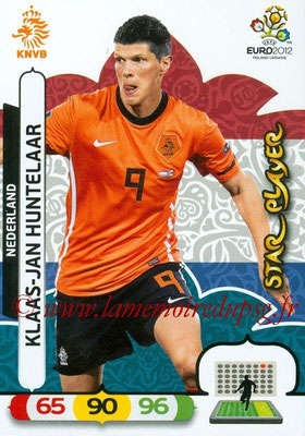 Panini Euro 2012 Cards Adrenalyn XL - N° 147 - Klass-Jan HUNTELAAR (Pays-Bas) (Star Player)