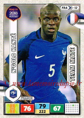 2018 - Panini Road to FIFA World Cup Russia Adrenalyn XL - N° FRA12 - N'Golo KANTE (France)