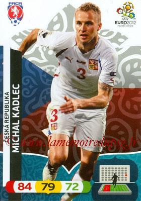 Panini Euro 2012 Cards Adrenalyn XL - N° 002 - Michal KADLEC (République Tchèque)