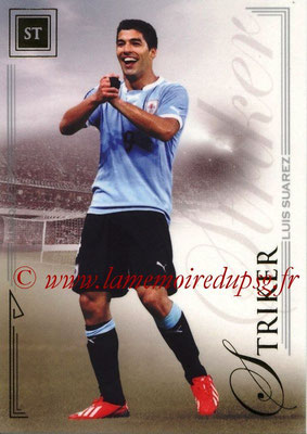 2014 - Futera World Football Unique - N° 088 - Luis SUAREZ (Striker)
