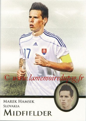 2013 - Futera World Football Unique - N° 038 - Marek HAMSIK (Slovaquie) (Midfielder)