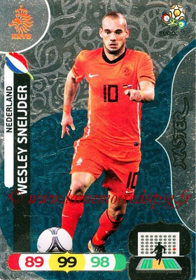 Panini Euro 2012 Cards Adrenalyn XL - N° 291 - Wesley SNEIJDER (Pays-Bas) (Master)