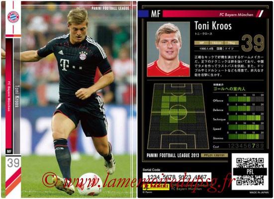 Panini Football League 2013 - PFL01 - N° 130 - Toni Kroos ( FC Bayern Munchen )