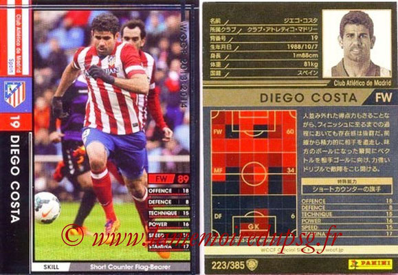 2013-14 - WCCF - N° 223 - Diego COSTA (Atletico Madrid)