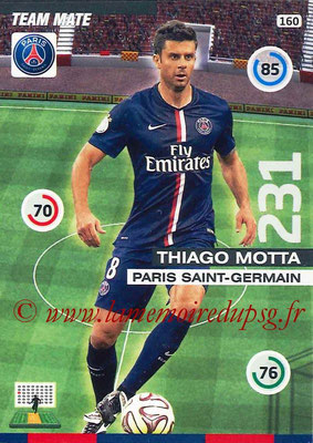 2015-16 - Football Cards N° 160 - Thiago MOTTA