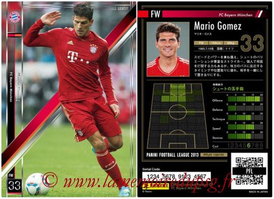 Panini Football League 2013 - PFL01 - N° 132 - Mario Gomez ( FC Bayern Munchen )