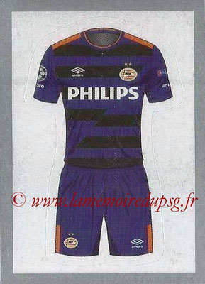 2015-16 - Topps UEFA Champions League Stickers - N° 078 - Maillot Exterieur PSV Eindhoven