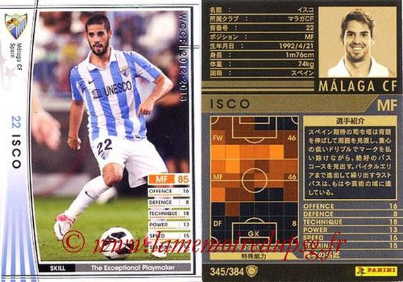 2012-13 - WCCF - N° 345 - ISCO (Malaga CF)