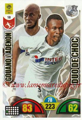 2018-19 - Panini Adrenalyn XL Ligue 1 - N° 018 - Prince-Désir GOUANO + Khaled ADENON (Amiens) (Duo de Choc)