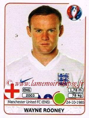 Panini Euro 2016 Stickers - N° 145 - Wayne ROONEY (Angleterre)