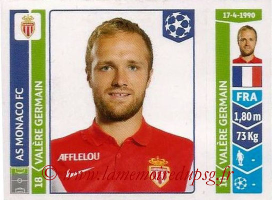 2014-15 - Panini Champions League N° 251 - Valère GERMAIN (AS Monaco)