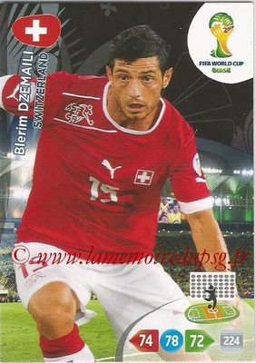 2014 - Panini FIFA World Cup Brazil Adrenalyn XL - N° 297 - Blerim DZEMAILI (Suisse)