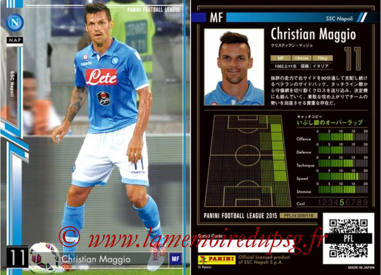Panini Football League 2015 - PFL14 - N° 029 - Christian MAGGIO (SSC Napoli)