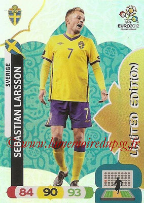 Panini Euro 2012 Cards Adrenalyn XL - N° LE48 - Sebastian LARSSON (Suède) (Limited Edition)