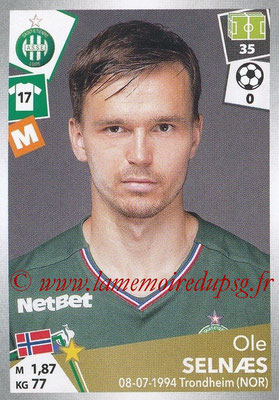 2017-18 - Panini Ligue 1 Stickers - N° 430 - Ole SELNAES (Saint-Etienne)