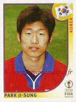 2002 - Panini FIFA World Cup Stickers - N° 251 - Park JI-SUNG (Corée)