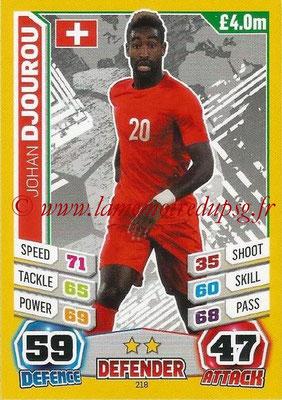 Topps Match Attax England 2014 - N° 218 - Johan DJOUROU (Suisse)