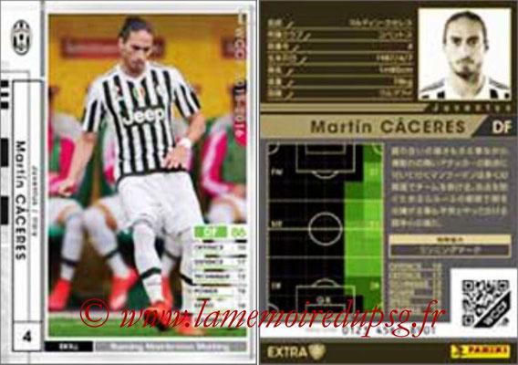 2015-16 - Panini WCCF - N° EXT08 - Martin CACERES (Juventus FC) (Extra)