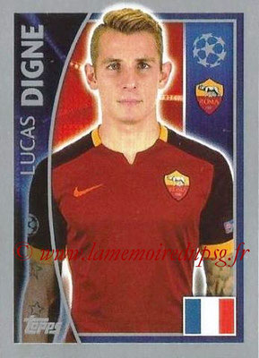 2015-16 - Topps UEFA Champions League Stickers - N° 339 - Lucas DIGNE (AS Roma)