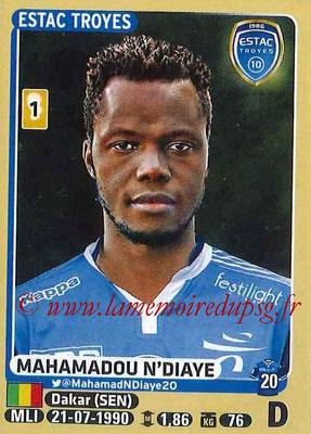 2015-16 - Panini Ligue 1 Stickers - N° 465 - Mahamadou N'DIAYE (ESTAC Troyes)