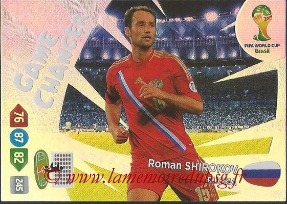 2014 - Panini FIFA World Cup Brazil Adrenalyn XL - N° 405 - Roman SHIROKOV (Russie) (Game Changer)