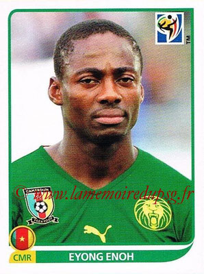 2010 - Panini FIFA World Cup South Africa Stickers - N° 405 - Eyong ENOH (Cameroun)