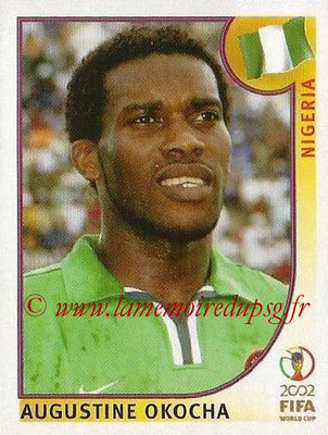 2002 - Panini FIFA World Cup Stickers - N° 414 - Augustine OKOCHA (Nigéria)