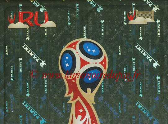 2018 - Panini FIFA World Cup Russia Stickers - N° 005 - Logo WC 2018