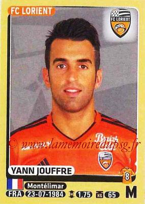 2015-16 - Panini Ligue 1 Stickers - N° 183 - Yann JOUFFRE (FC Lorient)