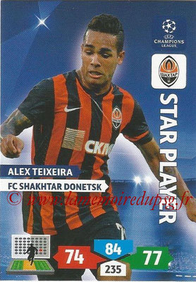 2013-14 - Adrenalyn XL champions League N° 257 - Alex TEIXEIRA (FC Shakhtar Donetsk) (Star Player)