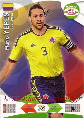 N° 030 - Mario YEPES (2004-08, PSG > 2014, Colombie) (Fans' favorite)