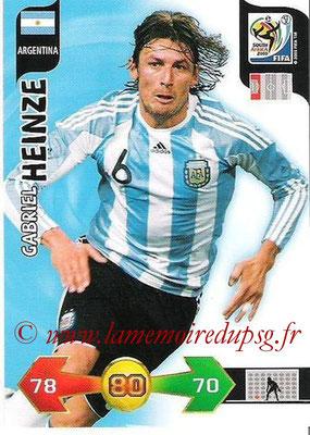 N° 008 - Gabriel HEINZE (2001-04, PSG > 2010, Argentine)