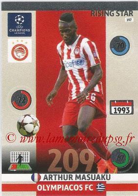 2014-15 - Adrenalyn XL champions League N° 197 - Arthur MASUAKU (Olympiacos FC) (Risin star)