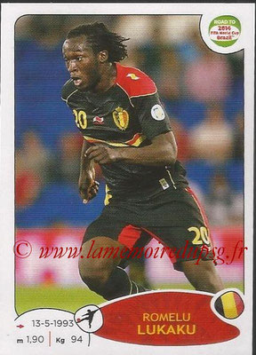 2014 - Panini Road to FIFA World Cup Brazil Stickers - N° 269 - Romelu LUKAKU (Belgique)