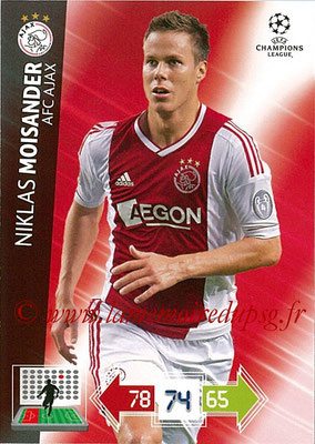 2012-13 - Adrenalyn XL champions League N° 002 - Niklas MOISANDER (AFC Ajax)